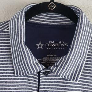 Dallas Cowboys Short Sleeve Polo Sz L